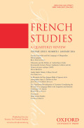 <i>Virgilian Identities in the French Renaissance</i> ed. by Phillip John Usher and Isabelle Fernbach (review)
