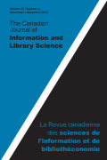 <i>The Future of Scholarly Communication</i> ed. by Deborah Shorley and Michael Jubb (review)
