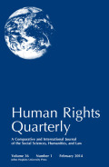<i>Fictions of Dignity: Embodying Human Rights in World Literature</i> by Elizabeth S. Anker (review)