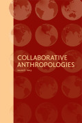 Collaborative Anthropologies cover