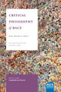 Critical Philosophy of Race cover