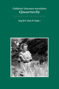 <i>Time of Beauty, Time of Fear: The Romantic Legacy in the Literature of Childhood</i> ed. by James Holt McGavran (review)