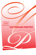 Time and the Poetess: Violet Fane and <i>Fin-de-Siècle</i> Poetry in Periodicals