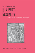 <i>Sanctity and Pornography in Medieval Culture: On the Verge</i> by Bill Burgwinkle and Cary Howie (review)