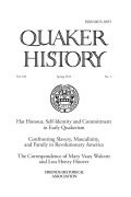 <i>From Peace to Freedom: Quaker Rhetoric and the Birth of American Antislavery, 1657–1761</i> by Brycchan Carey (review)