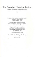 La marâtre: Marie-Anne Houde and the Myth of the Wicked Stepmother in Quebec
