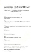 <i>Children in English-Canadian Society: Framing the Twentieth-Century Consensus</i> by Neil Sutherland (review)