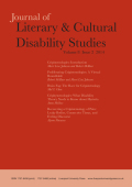 <i>Dangerous Discourses of Disability, Subjectivity and Sexuality</i> by Margrit Shildrick (review)