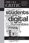 Introducing Digital Humanities Pedagogy