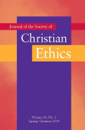 <i>Catholic Theological Ethics Past, Present, and Future: The Trento Conference</i> Edited by James F. Keenan, and: <i>The Social Mission of the US Catholic Church: A Theological Perspective</i> by Charles E. Curran (review)