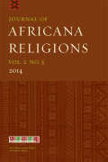 Journal of Africana Religions cover