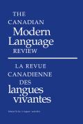 <i>The Second Language Acquisition of French Tense, Aspect, Mood and Modality</i> by D. Ayoun (review)
