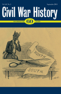 <i>Mending Broken Soldiers: The Union and Confederate Programs to Supply Artificial Limbs</i> by Guy Hasegawa (review)