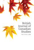 <i>Producing Canadian Literature: Authors Speak on the Literary Marketplace</i> by Kit Dobson and Smaro Kamboureli (review)