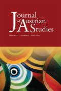 <i>Reports on Austrian Writers in 1945 and Lectures in American Exile</i> by Raoul Auernheimer (review)