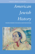 <i>Louis Marshall and the Rise of Jewish Ethnicity in America</i> by M.M. Silver (review)