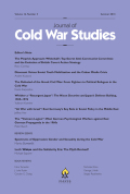 <i>A Cold War Turning Point: Nixon and China, 1969–1972</i> by Chris Tudda (review)