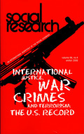 International Law and Justice and America's War on Terrorism