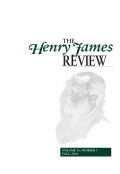 Toward the Incalculable: A Note on Henry James and Organic Form