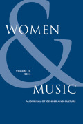 <i>In Her Own Words: Conversations with Composers in the United States</i> by Jennifer Kelly (review)