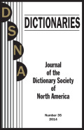 Johnson's Editorial Lexicography