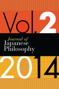 <i>Japanese and Continental Philosophy: Conversations with the Kyoto School</i> ed. by Bret W. Davis, Brian Schroeder, Jason M. Wirth (review)