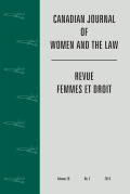 <i>Feminist Perspectives on Transitional Justice: From International and Criminal to Alternative Forms of Justice</i> ed. by Martha Albertson Fineman and Estelle Zinsstag (review)