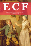 <i>Rococo Fiction in France, 1600–1715: Seditious Frivolity</i> by Allison Stedman (review)