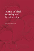 Something New: A Scholarly Review and Clinical Perspective of Black Online Dating