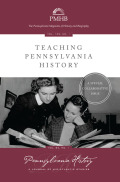 Pennsylvania History: A Journal of Mid-Atlantic Studies cover