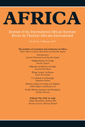 <i>Conflict & Security in Africa</i> ed. by Rita Abrahamsen (review)