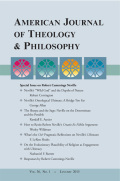 "Comments on Nathaniel F. Barrett's ""On the Evolutionary Plausibility of Religion as Engagement with Ultimacy"""