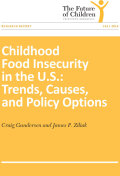 Childhood Food Insecurity in the U.S.: Trends, Causes, and Policy Options