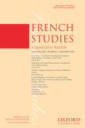 <i>A History of the French in London: Liberty, Equality, Opportunity</i> ed. by Debra Kelly, Martyn Cornick (review)