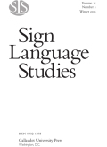 A Preliminary Study on Interpreting for Emergent Signers