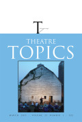 "The Theatre and the University: Two ""Last"" (and Lasting) Human Venues"
