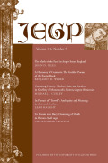 <i>Renaissance Retrospections: Tudor Views of the Middle Ages</i> ed. by Sarah A. Kelen (review)