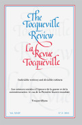 Tocqueville and Marx: Not opposites