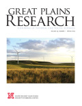 Great Plains Research cover
