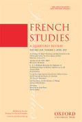 <i>Au Naturel: Naturism, Nudism, and Tourism in Twentieth-Century France</i> by Stephen L. Harp (review)