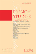 <i>Postcolonial Criticism and Representations of African Dictatorship: The Aesthetics of Tyranny</i> by Cécile Bishop (review)