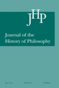 <i>The Philosophical Works of al-Kindī</i> transed. by Peter Adamson and Peter E. Pormann (review)