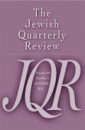 S. D. Luzzatto's Program for Restoring Jewish Leadership in Hebrew Studies