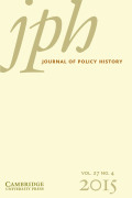 From Need to Hope: The American Family and Poverty in Partisan Discourse, 1900–2012