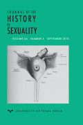 One, Two, or Many Sexes: Sex Differentiation in Medieval Islamicate Medical Thought