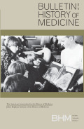 <i>Medicine, Mobility, and Power in Global Africa: Transnational Health and Healing</i> ed. by Hansjörg Dilger, Abdoulaye Kane, and Stacey A. Langwick (review)