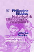 The Population History of the Philippines: A Genetic Overview