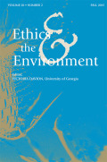 <i>Environmental Ethics: An Overview for the Twenty-First Century</i> by Robin Attfield (review)