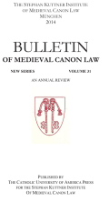 'May a Man Marry a Man?': Medieval Canon Lawyers and Theologians Analyze Same-Sex Unions