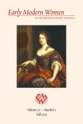 <i>Faithful Translators: Authorship, Gender, and Religion in Early Modern England</i> by Jaime Goodrich (review)